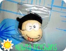 Flanel Gantungan Kunci Nobita